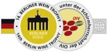 BERLINER WEIN TROPHY GOLD MEDAL