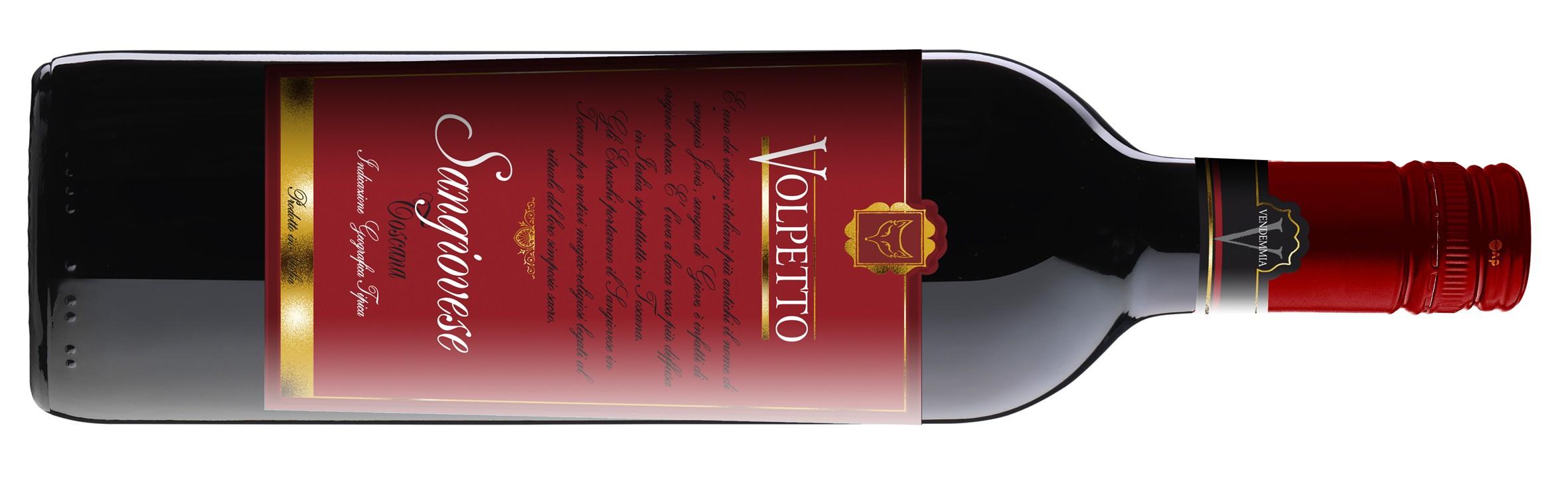 009 Volpetto Sangiovese bottle shot
